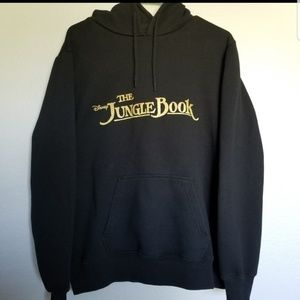 DISNEY THE JUNGLE BOOK Hoodie sweater. Size large